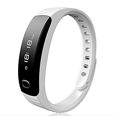 Joranlin ID105 Intelligent Healthy Smart Bracelet Bluetooth with Heart Rate Monitor Anti Lost Wake-up Sleep Monitor Call Reminder