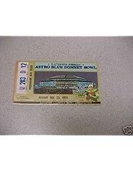 1974 BLUE BONNET BOWL TICKET - N. CAROLINA St HOUSTON
