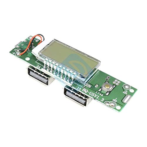 Amazon.com: Cargador doble USB para teléfono móvil, módulo ...
