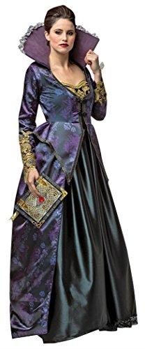 Rasta Imposta Women's Plus-Size Once Upon A Time Evil Queen, Purple/Black, Plus ()
