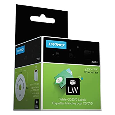 DYM30854 - Dymo CD/DVD Labels