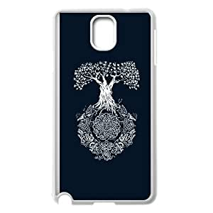 Samsung Galaxy Note 3 Cell Phone Case White Yggdrasil Tree of Life YT1431319