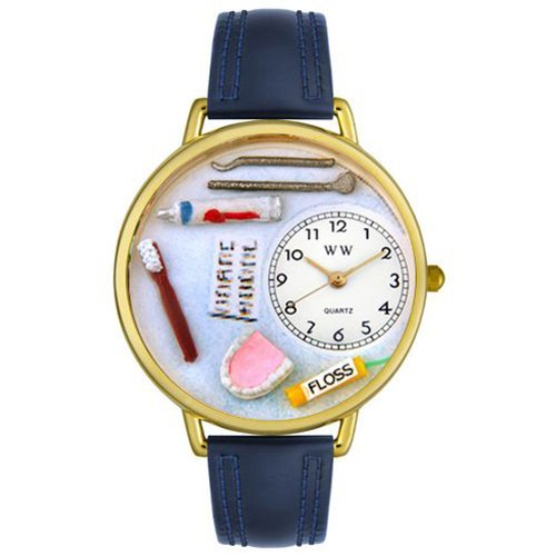 Whimsical Watches WHIMS-G0620001 - Reloj analógico de cuarzo unisex con correa de piel,