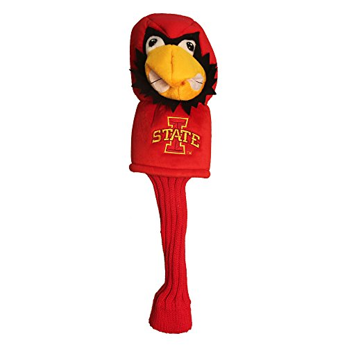 Team Golf NCAA Iowa State Cyclones Mascot Golf Club Headcover, Fits most Oversized Drivers, Extra Long Sock for Shaft Protection, Officially Licensed Product