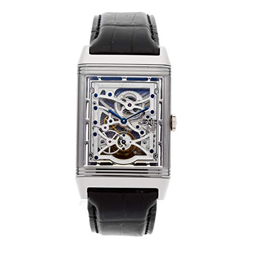 (Jaeger-LeCoultre Reverso Mechanical (Hand-Winding) Skeletonized Dial Mens Watch Q37335X1 (Certified Pre-Owned))