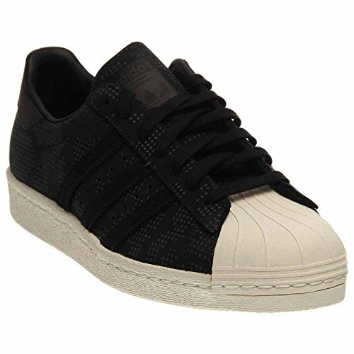 Adidas Heren Superstar 80s Camo Cblack / Owhite