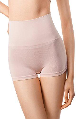 MD Women's Soft Shapewear Compression High waist Boyshort Tummy Shaper and Lifted Bottom Plus Size - Full Brief Figure Waist High