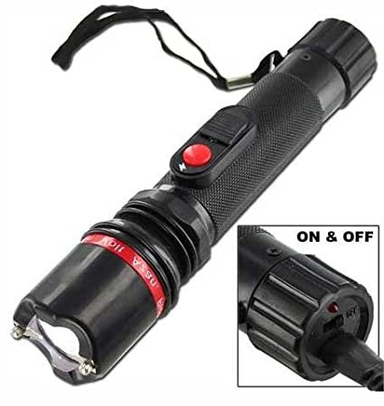 Stun Gun With Flashlight - 51,000,000 V - Mini Rechargeable Cheap Reliable  Stun Gun With LED Flashlight - Self-Defense - Defend Yourself