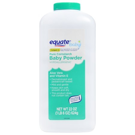 Equate Baby Powder, 22 Oz