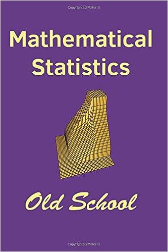 Amazon mathematical statistics old school 9781542439602 mathematical statistics old school fandeluxe Choice Image