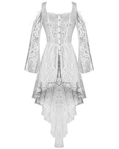 Vestido encaje blanco vintage