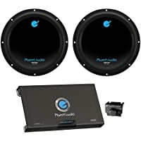 2) PLANET AUDIO AC10D 10 3000W Car Subwoofers Subs+2600W 2 Channel Amplifier