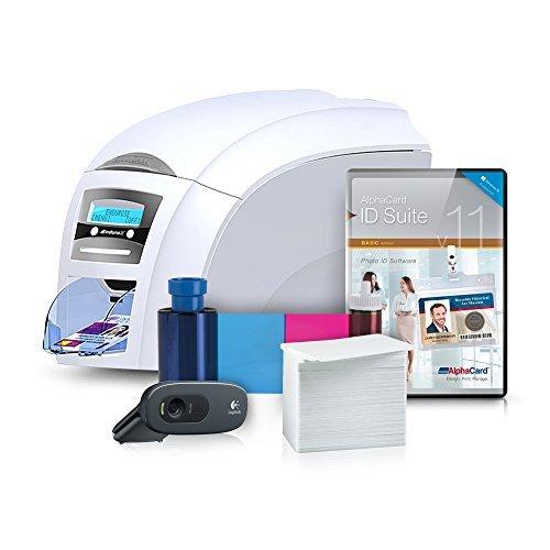 Magicard Enduro3e Duo ID Card Printer System with ribbon, ca