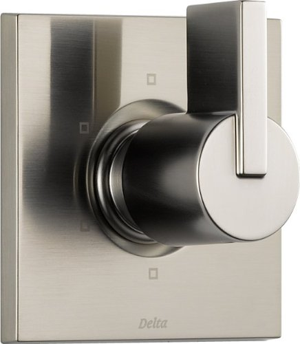 Delta T11953-SS Vero 6 Setting Diverter, Stainless by DELTA FAUCET