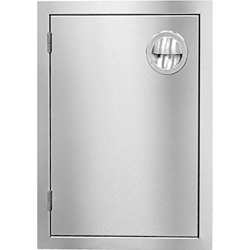 Luxor Slimline 14-inch Left-hinged Single Access Door - Vertical - Aht-adb-2014vr