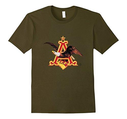 Mens Anheuser Busch A E Eagle T Shirt 2Xl Olive