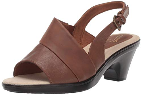 (Easy Street Women's Irma Dress Casual Slingback Sandal Sandal, Tan, 7 M US)
