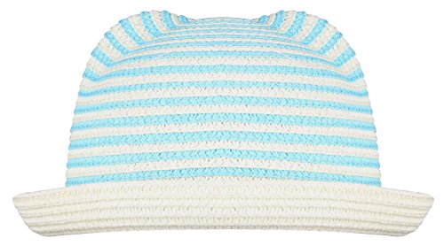 y boys and girls summer visor sun caps Blue Stripe (Boonie Hat All Weather Hat)