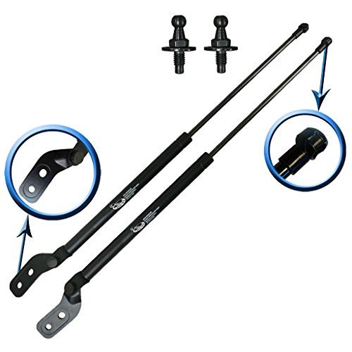 Two Rear Hatch Hatchback Liftgate Trunk Gas Charged Lift Supports For 1993-1997 Ford Probe Hatchback. Left and Right Side. LSC-0317-0318