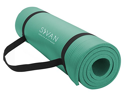 Sivan Health and Fitness 1/2-Inch Extra Thick 71-Inch Long NBR Comfort Foam...