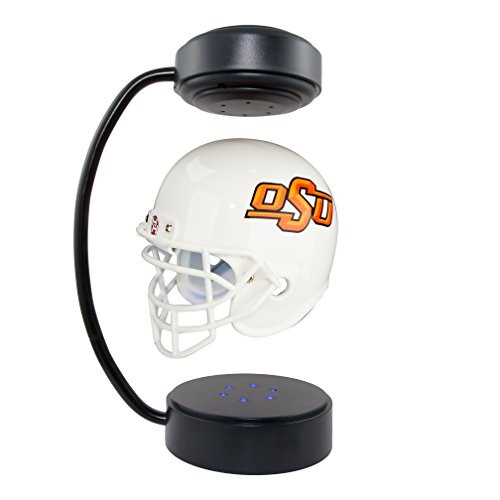 Oklahoma State Cowboys NCAA Hover Helmet - Collectible Levitating Football Helmet with Electromagnetic ()