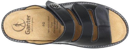Ganter Gracia, Weite G 5-209227-01000 - Zuecos de cuero para mujer Negro (Schwarz (schwarz 0100))