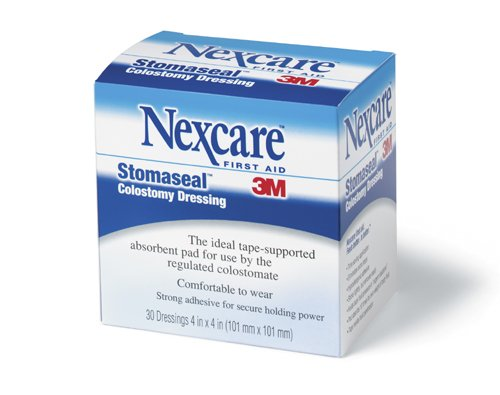 3m Nexcare Stomaseal Colostomy Dressing Case of 300