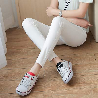 6a0efe0652528 Amazon.com: Autumn Water Fashion Skinny Pencil Jeans Woman Jeans for ...