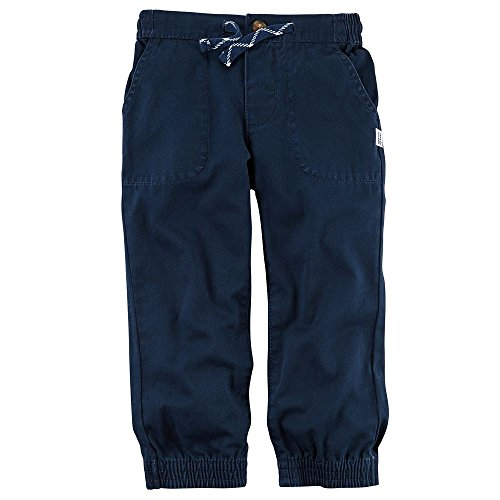 Pork Chop Pocket (Carter's Boys' Navy Twill Utility Jogger Pants With Pork Chop Pockets (12M))