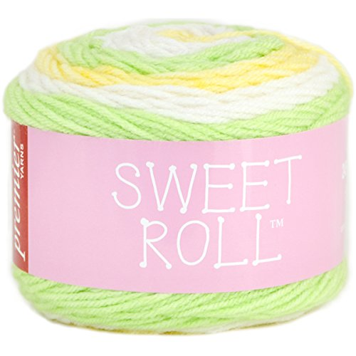 (Premier Yarns Sweet Roll Yarn-Melon Pop)