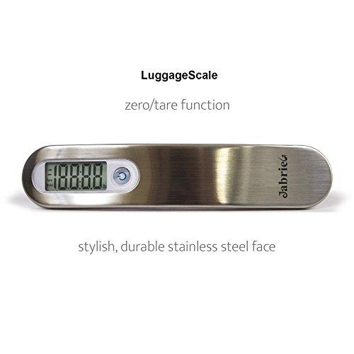 Báscula de equipaje digital de accuoz con maxweight 110 Lb. Viaje con la mejor: Amazon.es: Equipaje