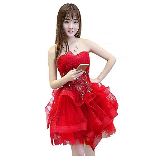Para Mujer Vestido Imperio Rosso Corte Drasawee 4wTqtY