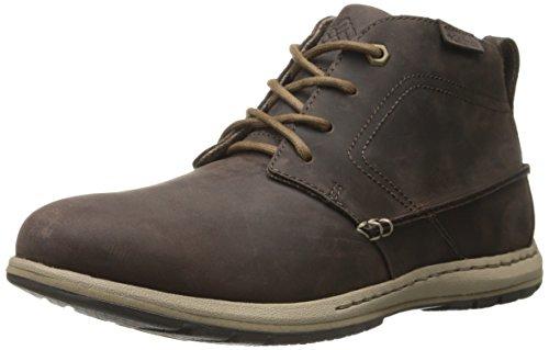 Columbia DAVENPORT CHUKKA - botas chukka de piel hombre marrón - Braun (Cordovan/Prairie Sand 231)