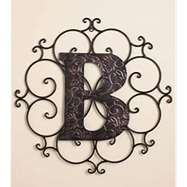 Personalized Letter  B  Metal Wall Art - Great Gift!