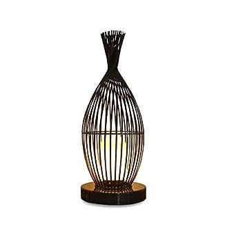 QEGY lamparas de pie LED, Luces Decorativas del Arte del Hierro ...