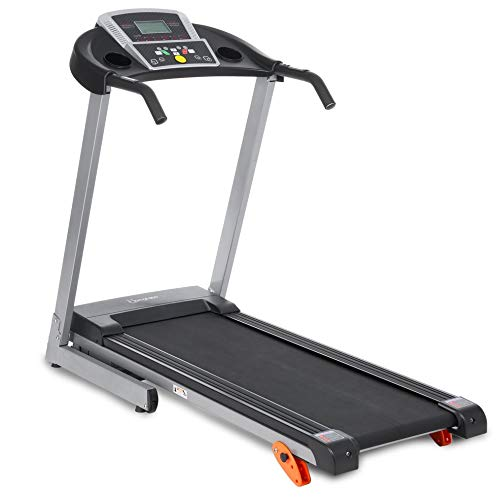Peppydazi Electric Treadmill Foldable Running Jogging Fitness Machine for Home & Gym
