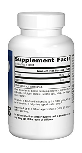 Source Naturals Melatonin 3mg - Sustained Release - 120 Tablets by Source Naturals (Image #7)'