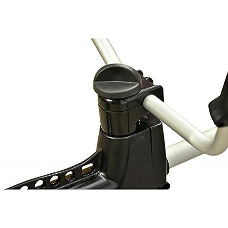 Grandmaster - Desbrozadora de Gasolina de 62cc Barra Divisible Sistema de Anti-Vibración con 2 discos y cabezal de hilo plastico - TMBC620B