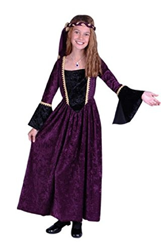 Prairie Girl Costume Ideas (OvedcRay Renaissance Girl Costume Renaissance Princess Juliet Child Costumes Purple Green)