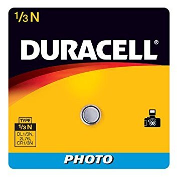 Duracell Photo Battery 3 V Model No. 1/3n Carded (Pack of 4) (Dl 1 3n Battery)