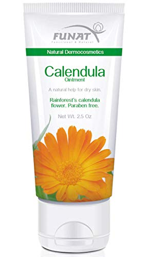 (Funat Calendula Ointment Healing Cicatrizing Natural Help For Dry Skin 2.5 Oz)