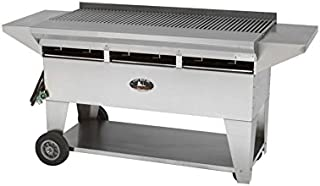 product image for Lazy Man Model A3 Elite Gourmet Series Natural Gas Stainless Steel Mobile Grill