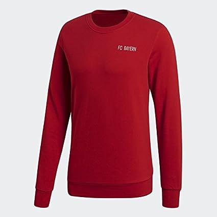 adidas - Sudadera de fútbol - F1806LH, S, Rojo True