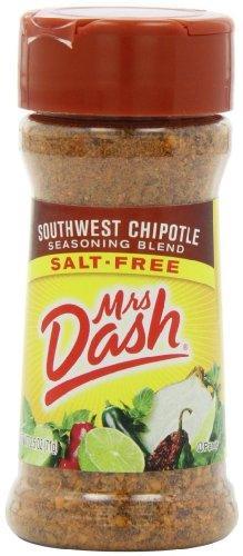 (Mrs. Dash Seasoning Blend, Southwest Chipotle, 2.5 Ounce (Pack of 12))
