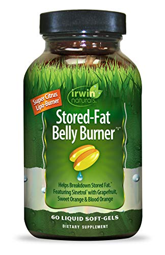 Irwin Naturals Stored Fat Belly Burner, 60 Soft Gels
