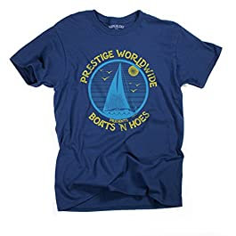 Men's Unisex Boats N Hoes Prestige Worldwide T-Shirt