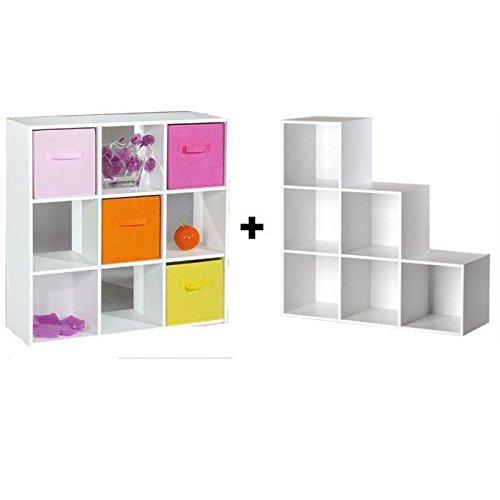 Cubes De Rangement  Cases  Meuble Escalier AmazonFr Cuisine