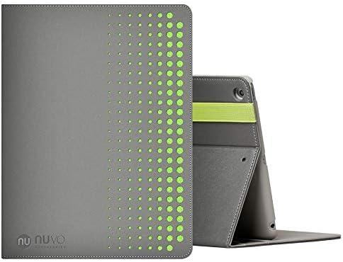 NU NUVO Funda para iPad 9.7, [9,7 Pulgadas, 2018/2017 Modelo, 6th /5th generación] Estuche Duradero de PU + Silicona con portalápices, (A1893/A1954/A1822/A1823): Amazon.es: Electrónica