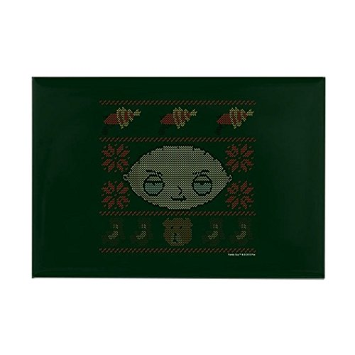 CafePress Family Guy Stewie Ugly Christmas Rectangle Magnet, 2
