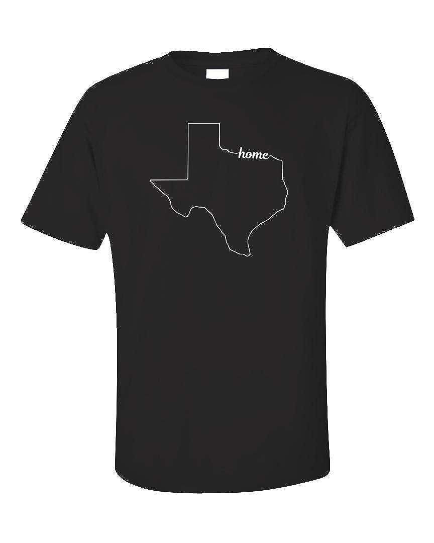 Texas State Usa Pride Home Unisex Shirts